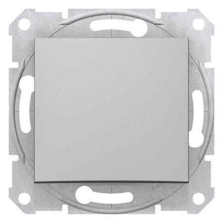 Schodišťové tlačítko hliník šuříková Sedna SDN0420160 Schneider Electric