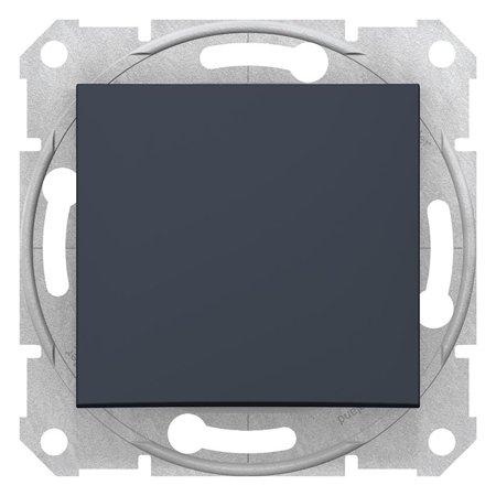 Schodišťový vypínač 10A grafitová Sedna SDN0400170 Schneider Electric