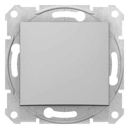Schodišťový vypínač 10A hliník Sedna SDN0400160 Schneider Electric