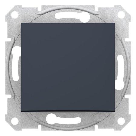 Schodišťový vypínač 16A grafitová Sedna SDN0400470 Schneider Electric