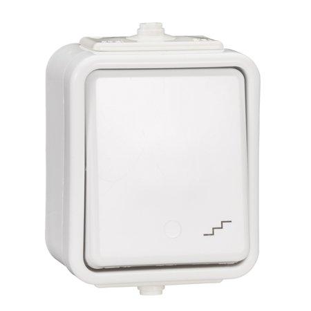 Schodišťový vypínač IP44 bílá Cedar Schneider Electric WNT600C01