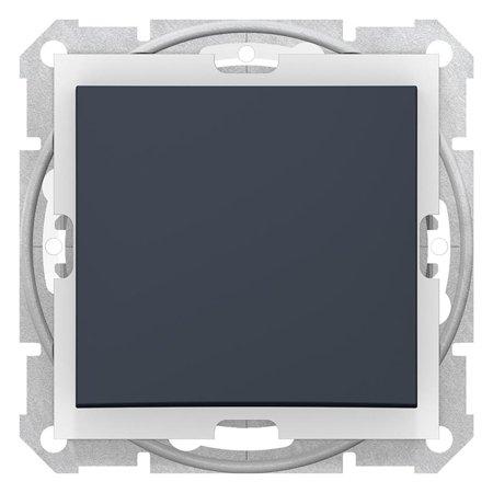 Schodišťový vypínač IP44, grafitová Sedna SDN0400570 Schneider Electric
