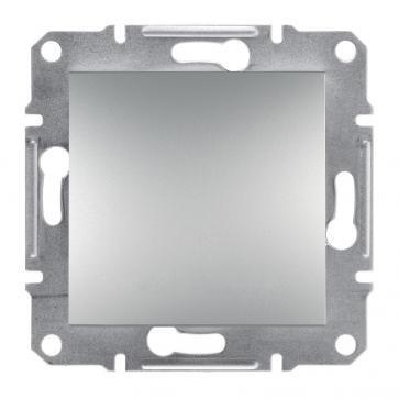 Schodišťový vypínač bez rámečku (šroubové svorky) ocel Asfora Schneider Electric EPH0400362