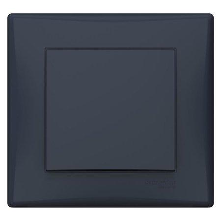 Schodišťový vypínač s rámečkem grafitová Sedna SDN0400270 Schneider Electric