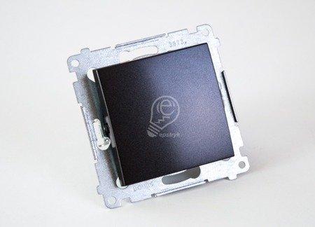 Simon 54 Premium Antracit Vypínač jednonásobný (modul) X šroubové koncovky, DW1A.01/48
