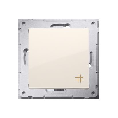 Simon 54 Premium Krémová Vypínač křížový (modul) X šroubové koncovky, DW7A.01/41