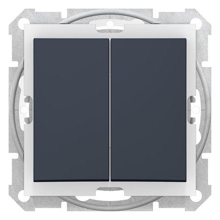 Spínač sériový IP44, grafitová Sedna SDN0300470 Schneider Electric