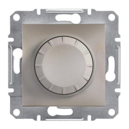 Stmívač RC (schodišťový vypínač) bez rámečku, hnědá Schneider Electric Asfora EPH6600169