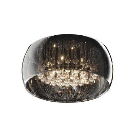 Stropní lampa transparentní křišťál kulatá 50cm 6xG9  Zuma Line Crystal Ceiling C0076-06X-F4FZ