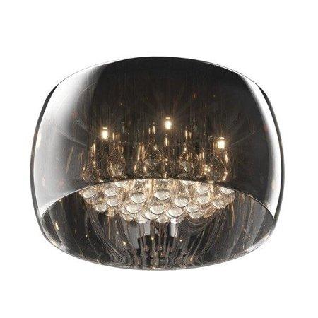 Stropní lampa transparentní stříbrná kulatá 40cm 5xG9 Zuma Line Crystal Ceiling C0076-05L-F4FZ