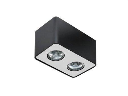 Stropní nástěnné svítidlo Nino 2 černá hliník Azzardo FH31432S
