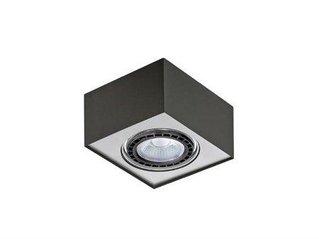 Stropní nástěnné svítidlo Paulo 1 12V černá hliník Azzardo GM4107