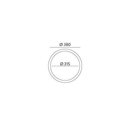 Stropní svítidlo P2/2 CLASSIC DŘEVO MAHAGON Kobi