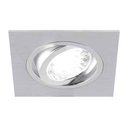 Stropní svítidlo, očko hranaté Alum GU10 D Silver Struhm