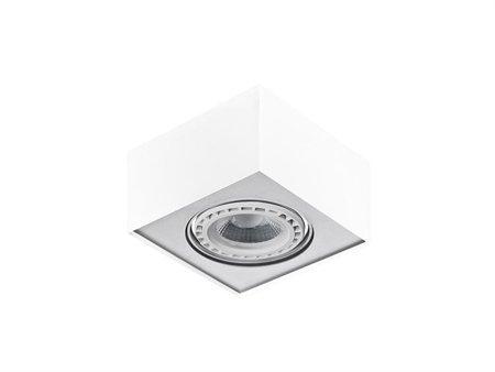 Svítidlo stropní Paulo 1 230V LED 15W stmívatelné bílá hliník Azzardo GM4107