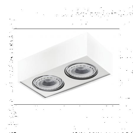 Svítidlo stropní Paulo 2 12V bílá Azzardo GM4203