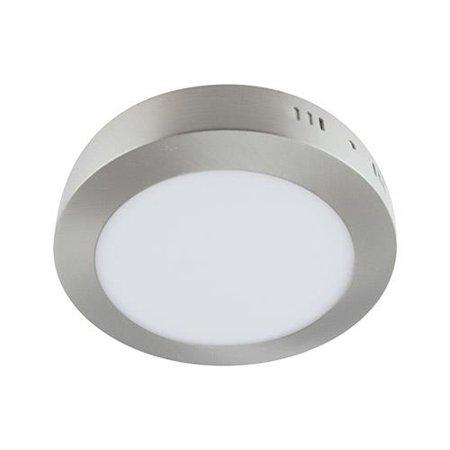 Svítidlo stropní, plafon MARTIN LED C, kulatá, 12W, 4000K, matný chrom, 3496, Struhm