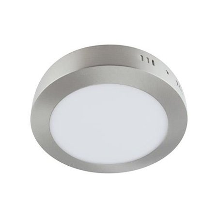 Svítidlo stropní, plafon MARTIN LED C, kulatá, 6W, 4000K, matný chrom, 3272, Struhm