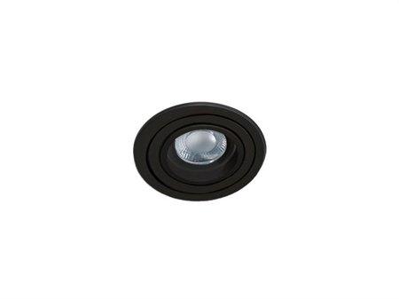 Svítidlo stropní podomítkové Carlo R černá Azzardo SN-6810R-BK