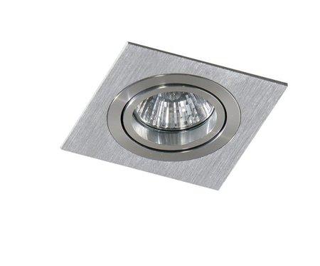 Svítidlo stropní podomítkové Carlo S hliník Azzardo SN-6811S-ALU