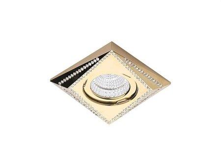Svítidlo stropní podomítkové Mira zlatá Azzardo NC1695-G