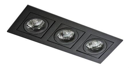 Svítidlo stropní podomítkové Paco 3 černá Azzardo GM2301