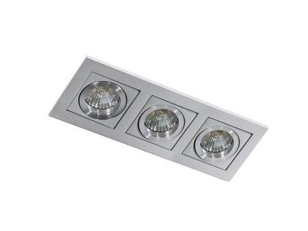 Svítidlo stropní podomítkové Paco 3 hliník Azzardo GM2301
