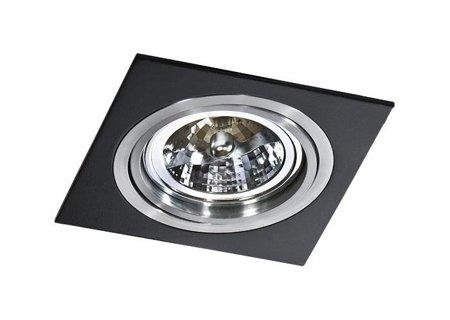 Svítidlo stropní podomítkové Siro 1 černá hliník Azzardo GM2101