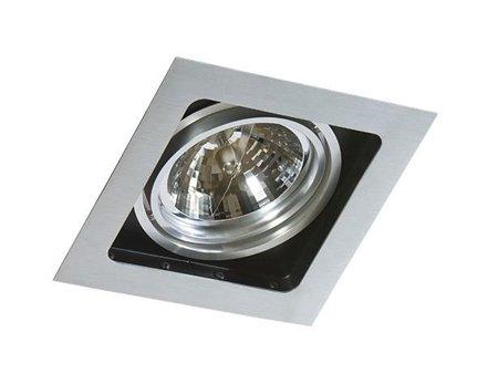 Svítidlo stropní podomítkové Sisto 1 hliník Azzardo GM2109