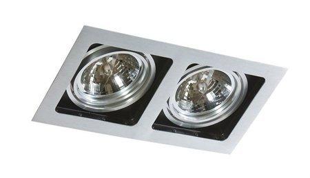 Svítidlo stropní podomítkové Sisto 2 hliník Azzardo GM2202