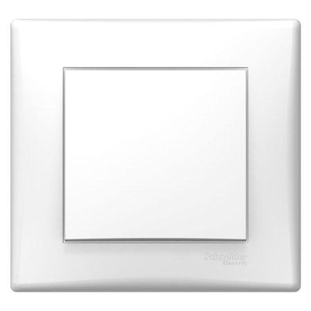 Tlačítko bílá s rámečkem Sedna SDN0700221 Schneider Electric