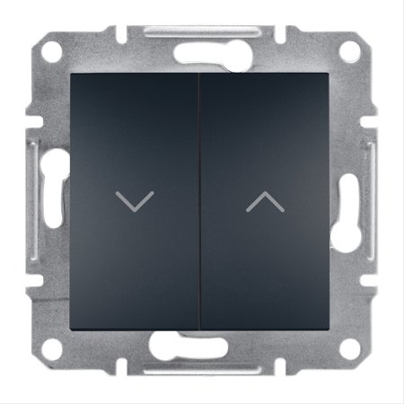 Tlačítko žaluziové bez rámečku, antracit Schneider Electric Asfora EPH1300171