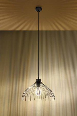 Visící lampa UMB černá E27 SL.0665 Sollux