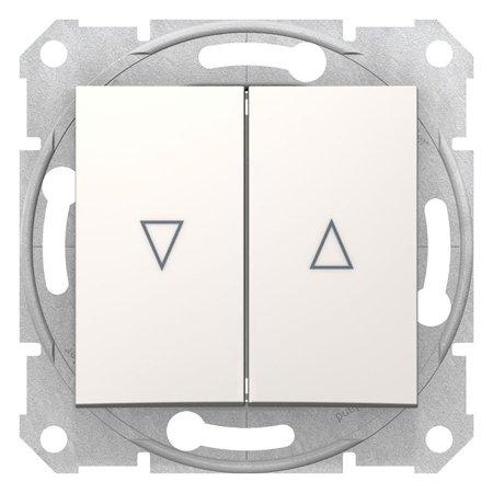 Žaluziový vypínač krémová Sedna SDN1300323 Schneider Electric