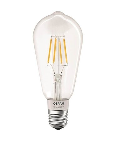 Žárovka vlákno LED stmívatelná 5,5W E27 SMART+ Filament Edison Dimmable Bluetooth OSRAM