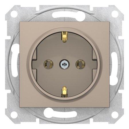Zásuvka SCHUKO saténová Sedna SDN3000568 Schneider Electric