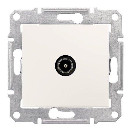 Zásuvka TV koncová krémová Sedna SDN3201623 Schneider Electric