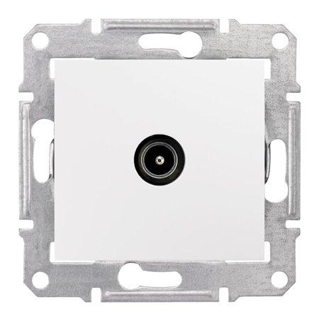 Zásuvka TV průchozí 8dB bílá Sedna SDN3201221 Schneider Electric