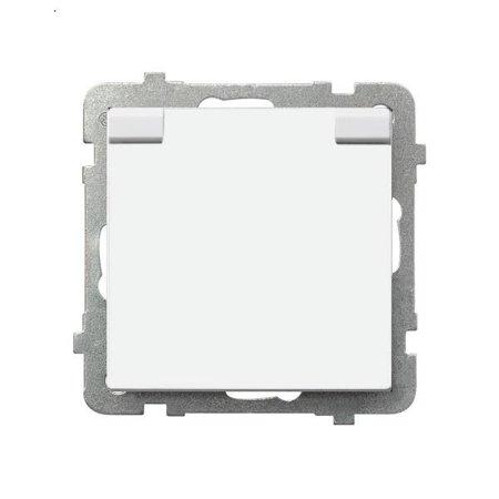 Zásuvka venkovní s uzemněním , bílý, GPH-1RZ/m/00/w, Ospel Sonata