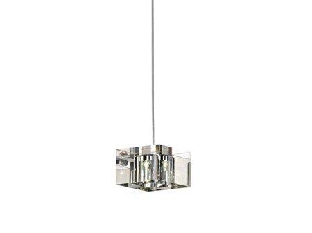 Závěsná lampa Box 1 transparentní Azzardo MP 8516-1