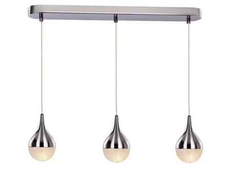 Závěsná lampa Cecilia 3 line chrom Azzardo MD16002001-3A