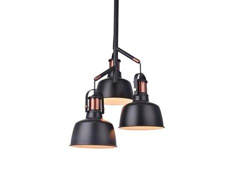 Závěsná lampa Darling 3 černá Azzardo MD50686-3