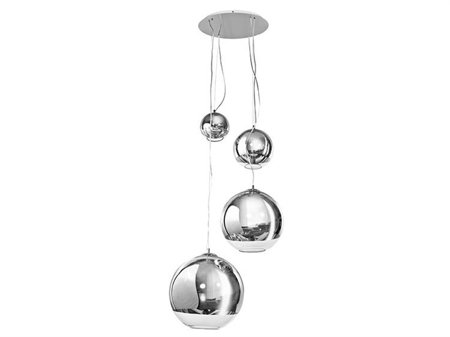 Závěsná stropní lampa Silver Ball 4 chrom Azzardo AZ2531