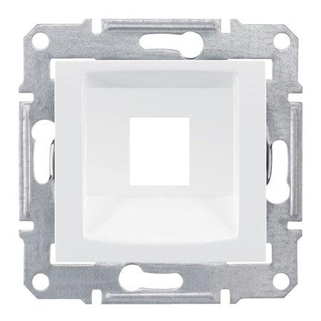 deska do 1xRJ45: KRONE bílá Sedna SDN4300321 Schneider Electric