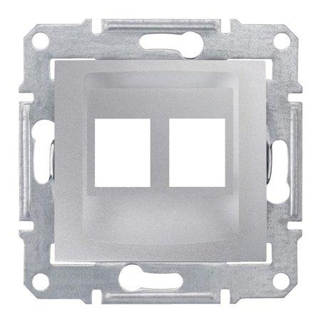deska do 2xRJ45: AMP, MOLEX hliník Sedna SDN4400660 Schneider Electric